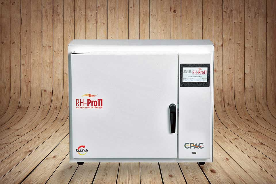 CPAC RH-Pro11:  The High-Velocity, Hot Air Sterilizer That Will Change Your Dental Office