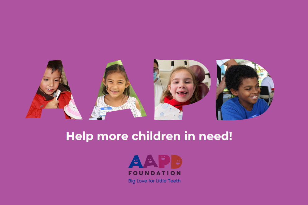 AAPD Conference 2019:  Giving Dental Homes to Children in Need